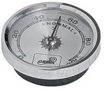 GEWA Cases Hygrometer Hygrometer, goldfarben