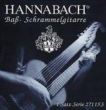 Hannabach Hannabach Saiten für Bass-/Schrammelgitarre Bordunsatz 9-saitig