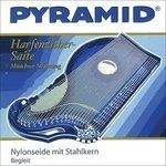 Pyramid Pyramid Saiten für Zither Nylonseide mit Stahlkern. Harfen-/Luftresonanz-Zither Satz