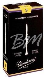 Vandoren Blatt Bb-Klarinette Black Master 2 1/2
