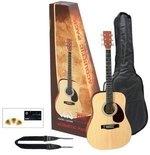 GEWApure Akustikgitarre VGS Acoustic Pack Gitarre natur