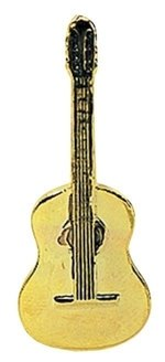 GEWA Anstecknadel Konzertgitarre