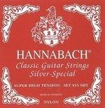 Hannabach Klassikgitarrensaiten Serie 815 Super High Tension Silver Special 3er Bass super high