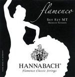 Hannabach Klassikgitarrensaiten Serie 827 Medium Tension Flamenco Classic 3er Bass