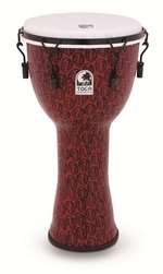 Toca Djembe Freestyle II Mechanically Tuned Red Mask