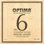 Optima Optima Saiten für Klassik-Gitarre No. 6 Special Silver Satz Nylon high