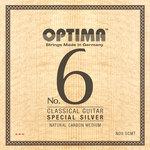 Optima Optima Saiten für Klassik-Gitarre No. 6 Special Silver Satz Carbon high