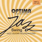 Optima Optima Saiten für E-Gitarre Jazz Swing Series Round Wound Satz