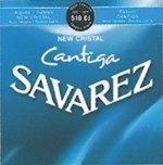 Savarez Savarez Saiten für Klassik-Gitarre New Cristal Cantiga Satz high