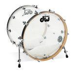 Drum Workshop Bassdrum Design Acryl Clear