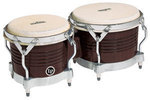 Latin Percussion Bongo Matador Wood Dark Wood