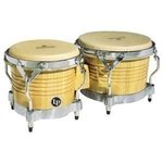 Latin Percussion Bongo Matador Wood Natur