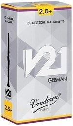 Vandoren Blatt Bb-Klarinette Deutsch V21 1 1/2