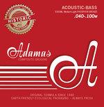 Adamas Saiten für Akustikbass Adamas Phosphor Bronze Satz 4-string Med