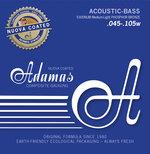 Adamas Saiten für Akustikbass Adamas Nuova coated beschichtet Satz 4-string Med