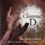 Larsen Larsen Saiten für Violine Il CANNONE D Silber Medium