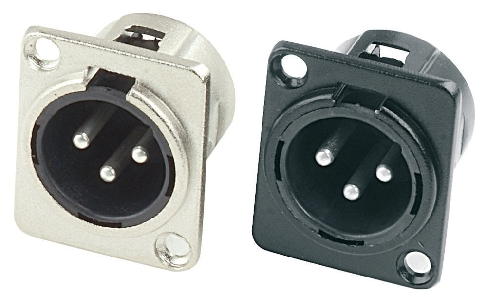GEWA Konektor XLR - XLR(male) vystavěný výstup