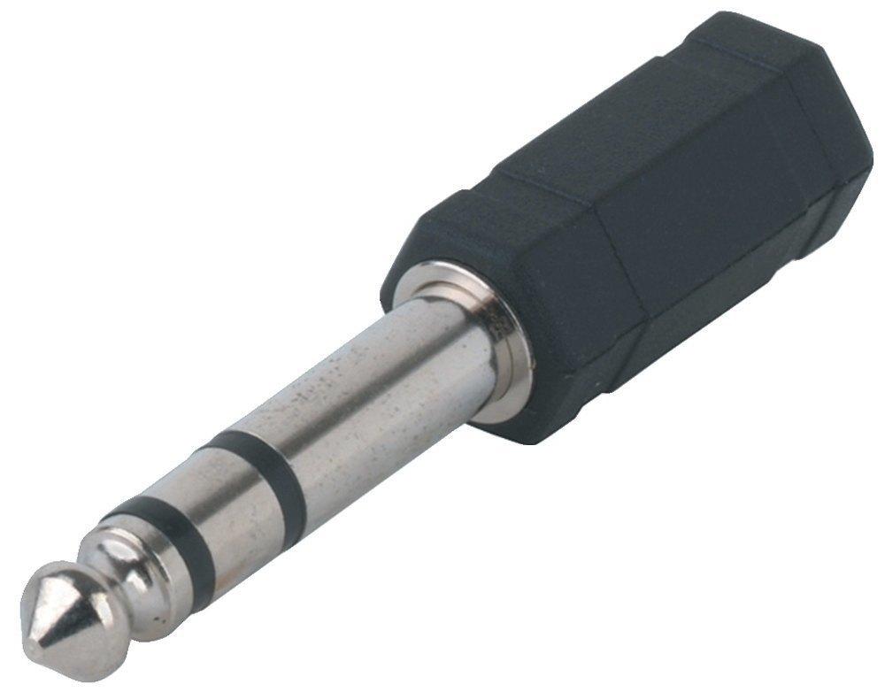 GEWA Adaptér - 3,5 mm Stereo zděř - 6,3 mm Stereo Jack