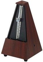 Wittner Metronom Pyramidenform Mahagoni-Maserung  855111