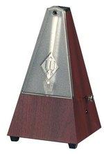 Wittner Metronom Pyramidenform Mahagoni-Maserung    812K