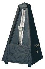Wittner Metronom Pyramidenform Eiche Schwarz. Matt 819