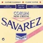 Savarez Savarez Saiten für Klassik-Gitarre New Cristal Corum Satz