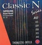 Thomastik-Infeld Thomastik Saiten für Klassik-Gitarre Classic N Series. Superlona Light Satz