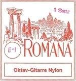 Romana Oktavgitarre-Saiten Satz Nylon
