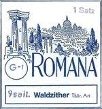 Romana Waldzither-Saiten Satz 9-saitig