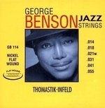 Thomastik-Infeld E-Gitarre-Saiten George Benson Jazz Guitar Satz flatwound