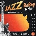 Thomastik-Infeld E-Gitarre-Saiten Jazz BeBop Nickel Round Wound Satz 012rw