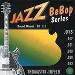 Thomastik Infeld Thomastik Saiten für E-Gitarre Jazz BeBop Nickel Round Wound Satz 013rw
