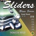 Thomastik Infeld Thomastik Saiten für E-Gitarre Sliders Blues Series Satz 009 light