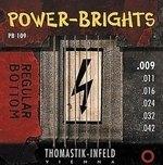Thomastik Infeld Thomastik Saiten für E-Gitarre Power Brights Series Satz 010