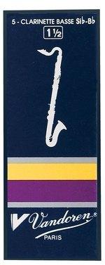 Vandoren Blatt Bass-Klarinette Traditionell 1 1/2