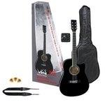 PURE GEWA E-Akustikgitarre Electro-Acoustic Pack Gitarre schwarz