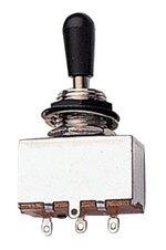 Partsland Schalter Toggle Switches Schwarzer Knopf