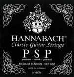 Hannabach Klassikgitarrensaiten Serie 850 Medium Tension PSP Satz medium