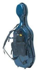 GEWA Cases Celloetui Tragesystem Idea Fiedler Dunkelblau/blau