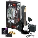PURE GEWA E-Gitarre RC-100 Guitar Pack Black