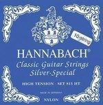 Hannabach Klassikgitarrensaiten Serie 815 für 8/10 saitige Gitarren / High Tension Silver Special A/10