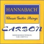 Hannabach Klassikgitarrensaiten CARBON Medium / High Tension Diskant 3er Diskant