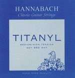 Hannabach Klassikgitarrensaiten Serie 950 Medium/High Tension Titanyl Satz medium-high