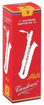 Vandoren Blatt Bariton Saxophon Java Filed Red 2