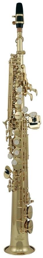 PURE GEWA Bb-Sopran Saxophon Roy Benson SS-302 SS-302