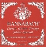 Hannabach Klassikgitarrensaiten Serie 815 Super High Tension Silver Special Satz super high