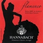 Hannabach Klassikgitarrensaiten Serie 827 Super High Tension Flamenco Classic 3er Bass