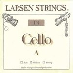 Larsen Larsen Saiten für Cello kleine Größen A 1/4