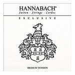 Hannabach Klassikgitarrensaiten Exclusive Serie Medium Tension 3er Bass