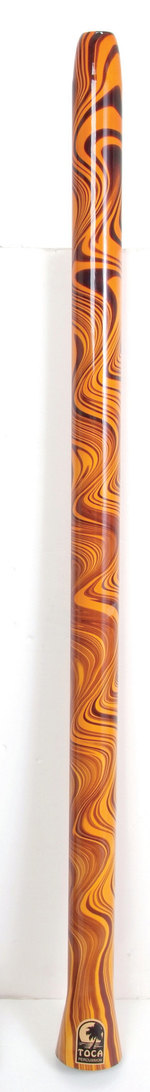 Toca World Percussion Didgeridoos Ornage Swirl
